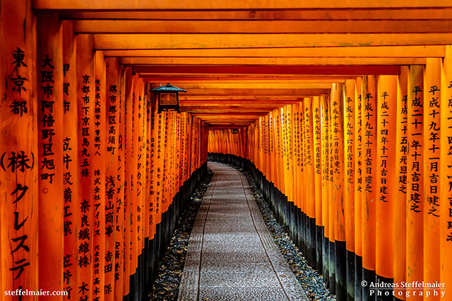 andreas steffelmaier photography fushimi inari shrine