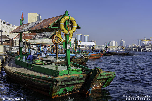 andreas steffelmaier photography abras on dubai creek