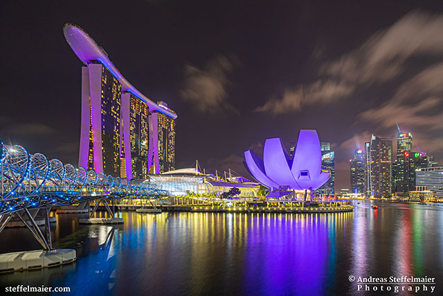 Andreas Steffelmaier Photography Marina Bay Singapore