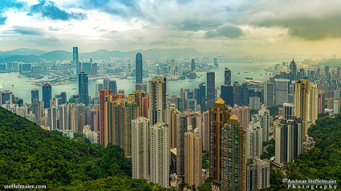 Andreas Steffelmaier Photography Victoria Peak Hong Kong