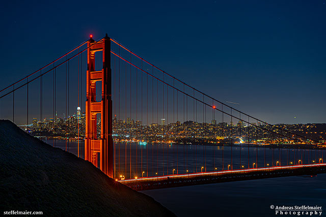 Andreas Steffelmaier Photography San Francisco after sunset
