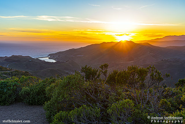 Andreas Steffelmaier Photography Sunset over Muir Woods