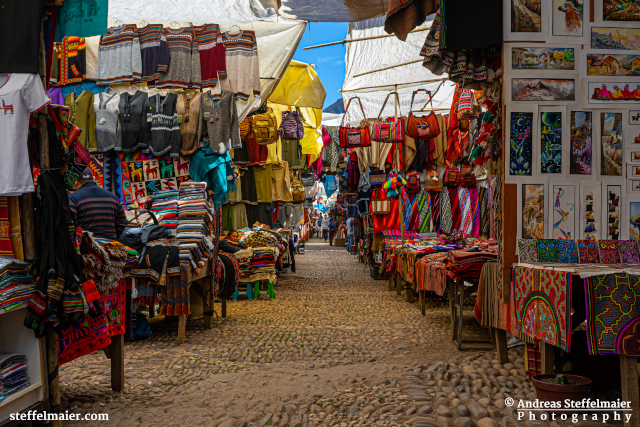 Andreas Steffelmaier Photography Peruvian Marketplace
