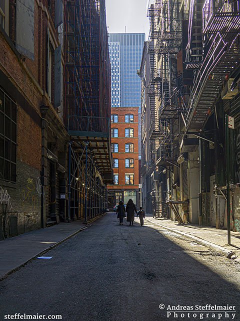 Andreas Steffelmaier Photography NYC Alleyways